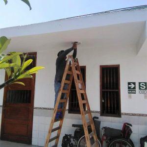 """FUNDACIÓN HERES, CONTRIBUCIÓN A LOS GASTOS EN INFRAESTRUCTURA DEL CENTRO DE """"LA ASOCIACIÓN CRUZ DE ORO"""" PARA BENEFICIAR A 300 PERSONAS, BRASIL."""